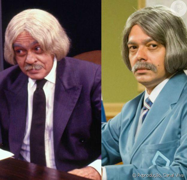 Bruno Mazzeo vai interpretar o Professor Raimundo na nova versão da 'Escolinha do Professor Raimundo'. Chico Anysio, seu pai, conduziu o humorístico, no original