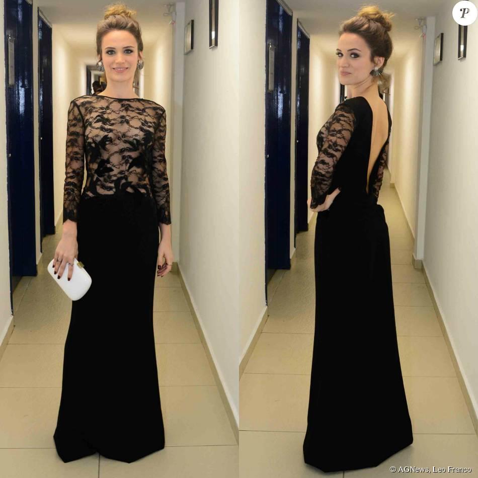 d4f2da8dd7 Bianca Bin apostou em vestido preto longo da DVF