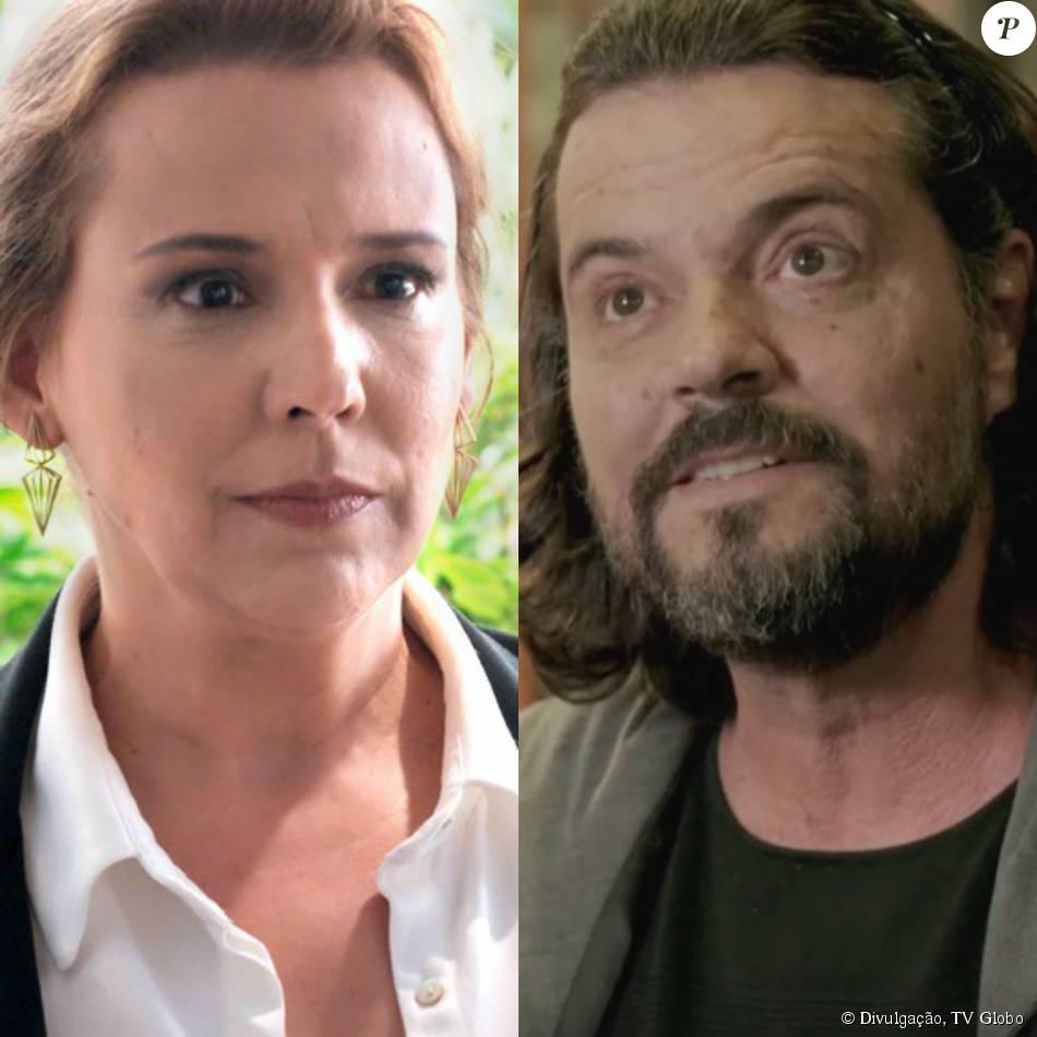 5aca5b5b1a722 Emília (Ana Beatriz Nogueira) e Bernardo (Felipe Camargo) se reencontram  depois de