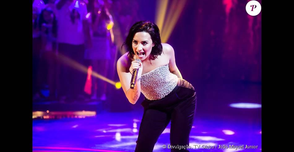 Demi Lovato disse estar mais confiante aos 23 anos no 'Caldeirão do Huck'