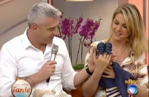 Grávida, Ana Hickmann revela sexo do bebê: 'É menino e vai se chamar Alexandre'