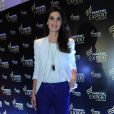 A apresentadora Isabella Fiorentino esteve no evento da marca Pantene