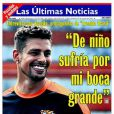 Cauã Reymond ganha destaque em capa de revista chilena. Na entrevista, ele fala que soria com a boca grande na infância