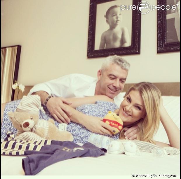 c9fc9dcbd68c2 Ana Hickmann escolheu os padrinhos de seu primeiro filho com o empresário  Alexandre Correa