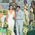 Natália (Daniela Escobar) se casa grávida de Juliano (Bruno Gissoni), em 'Flor do Caribe'