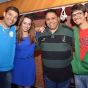 Suzana Pires, atriz e coautora de 'Flor do Caribe', grava samba para Vila Isabel