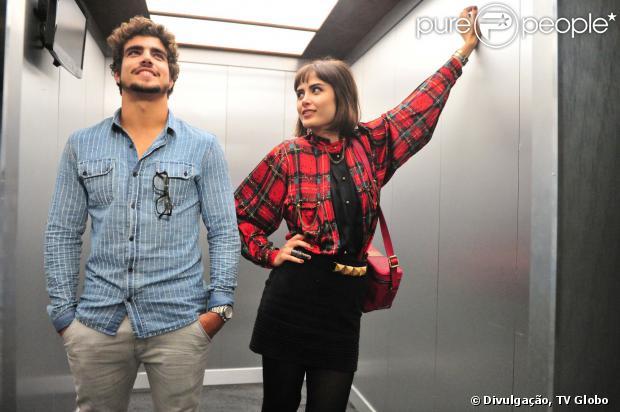 Caio Castro interpreta o médico Michel na novela 'Amor à Vida' e