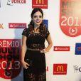 Giovanna Lancellotti abusa na transparência no Prêmio Multishow 2013
