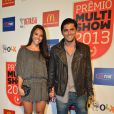 Yana Lavigne e Bruno Gissoni prestigiam o Prêmio Multishow 2013