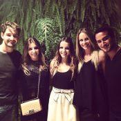 Alexandre Pato assiste ao show de Beyoncé em SP com namorada, Sophia Mattar