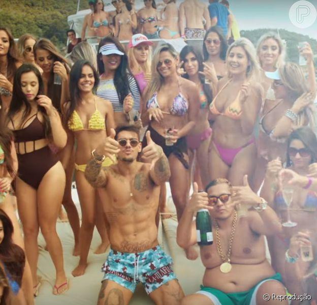 Lucas Lucco lança clipe de nova versão de 'Tá Tranquilo, Tá Favorável', hit de Mc Bin Laden. Gravação foi divulgada no domingo, 21 de fevereiro de 2016