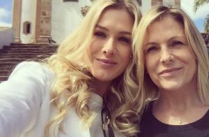 Fiorella Mattheis comenta comparações com a mãe, Sandra: 'Superparecidas!'