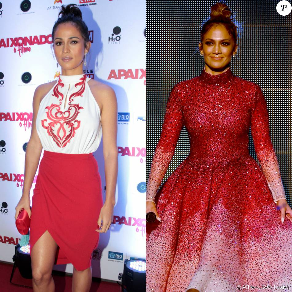 Nanda Costa é comparada a Jennifer Lopez em pré-estreia de filme: 'Iguais'