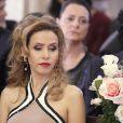 Glauce (Leona Cavalli) fica frustrada no ao ver Bruno (Malvino Salvador) se casando com Paloma (Paolla Oliveira), em 'Amor à Vida'