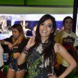 Anitta vai ao Rock in Rio usando um de seus tradicionais shortinhos