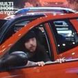 'BBB16': Tamiel fechou a porta do carro após o fim do cronômetro