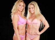 Danielle Winits e a mãe, Nadja, exibem boa forma de lingerie em ensaio. Fotos!