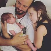 Paulo Vilhena mostra bebê de Fernanda Rodrigues com irmã: 'Amo vocês'