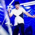 Justin Timberlake homenageou Michael Jackson durante sua apresentação no Rock in Rio. Em 'Sexy back', o cantor imitou os movimentos pélvicos do rei do pop