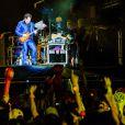 O show de Frejat terminou com 'Exagerado', sucesso de Cazuza, que foi o homenageado desta edição do Rock in Rio