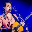 John Mayer acalentou os corações apaixonados da Cidade do Rock por mais de uma hora em sua primeira vinda ao Brasil. O cantor já havia se apresentado em São Paulo