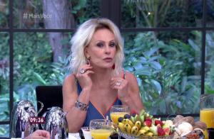Ana Maria Braga imita atriz que usou brincos diferentes no Oscar: 'Tendência'