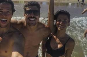 Ana Tapajós nega romance com Caio Castro: 'Isso não existe. Somos apenas amigos'