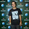 Bernardo Mesquita curte quinto dia de shows no Rock in Rio 2013, nesta sexta-feira (20)