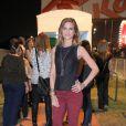 Luiza Valdetaro curtiu o quinto dia de shows no Rock in Rio 2013, nesta sexta-feira (20)