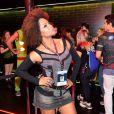 Adriana Bombom curte quinto dia de shows no Rock in Rio 2013, nesta sexta-feira (20)