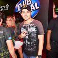 Rodrigo Andrade curte o quinto dia de shows no Rock in Rio 2013, nesta sexta-feira (20)
