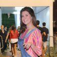 Fernanda Paes Leme curte quinto dia de shows no Rock in Rio 2013, nesta sexta-feira (20)