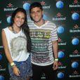 Bruno Gissoni e Yanna Lavigne curtem quinto dia de shows no Rock in Rio 2013, nesta sexta-feira (20)