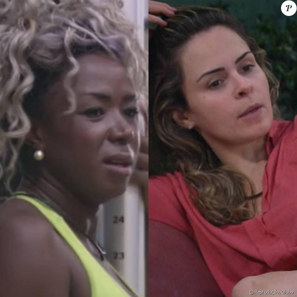 Adélia ameaça cortar as roupas de Ana Paula nesta segunda-feira, dia 29 de fevereiro de 2016