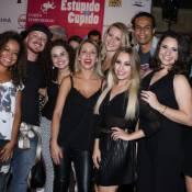 Carla Diaz se reencontra com elenco de 'Chiquititas' ao estrear musical em SP