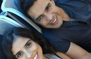Zezé Di Camargo viaja sem Graciele Lacerda para os EUA e passa férias com Zilu