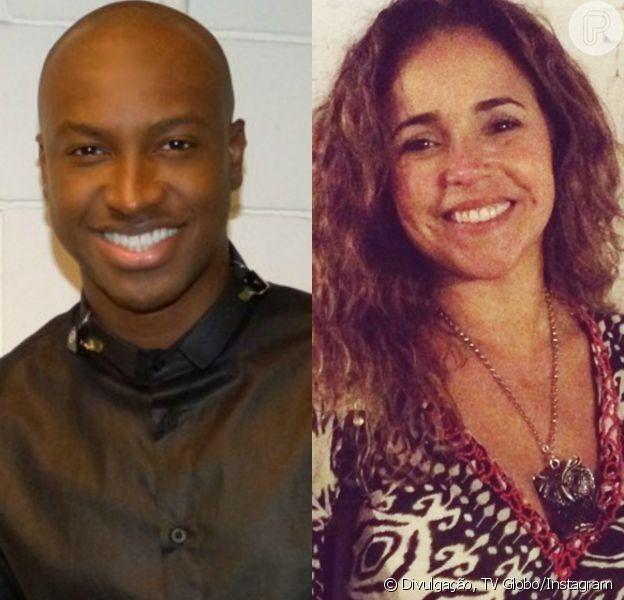 Thiaguinho será substituído por Daniela Mercury no júri do 'SuperStar'