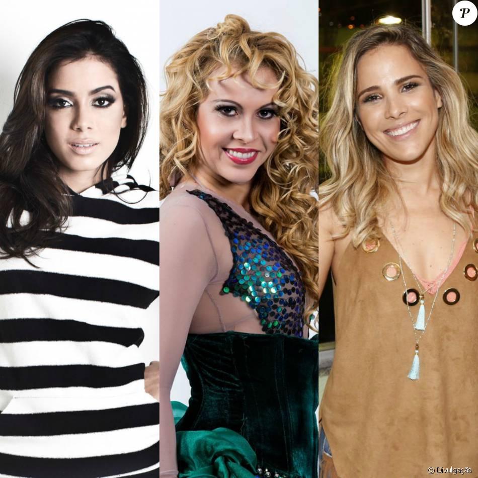 Anitta, Joelma e Wanessa Camargo foram cotadas pela Band para serem as juradas do 'X-Factor Brasil'