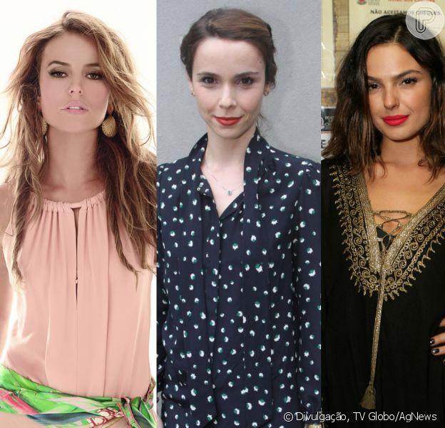 Paolla Oliveira, Débora Falabella e Isis Valverde vão protagonizar a novela 'À Flor da Pele'. Uma quarta protagonista falta ser definida