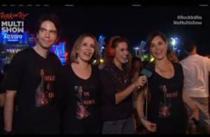 Christiane Torloni curte Rock in Rio com famoso bordão na camisa: 'É um legado'