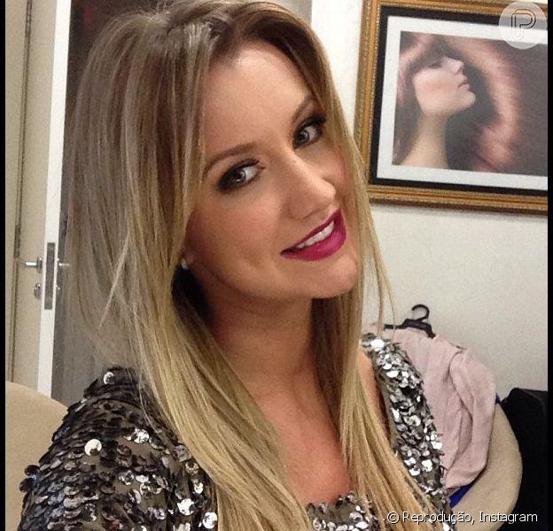 Ana Paula Siebert diz que não se importa com comparações com Ticiane Pinheiro, em 24 de setembro de 2013