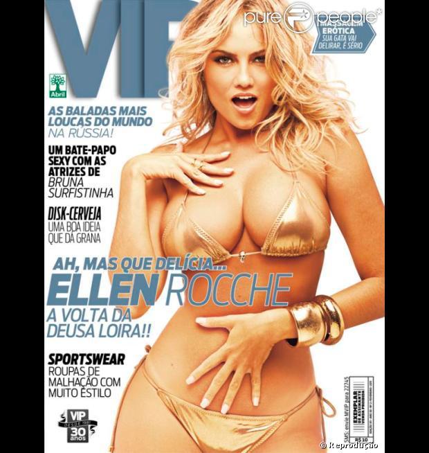 Em Fevereiro De Ellen Rocche Foi Capa Da Revista Vip