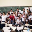 Anitta e sua turma do colégio