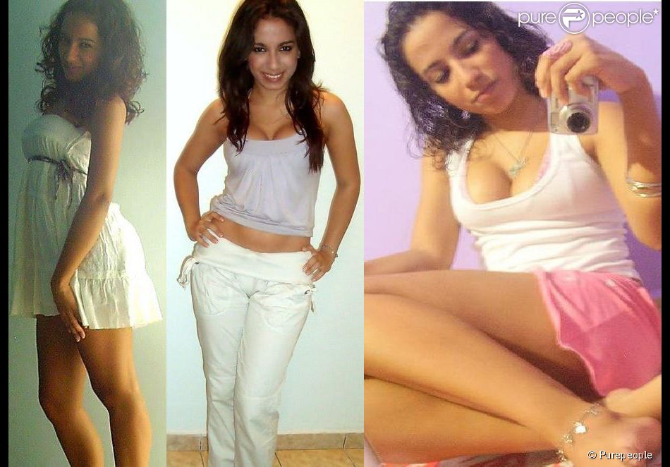 Vaidosa, Anitta sempre gostou de posar para fotos mostrando seus looks