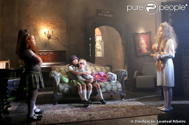 Anna Lyvia Padilha, a 'menina fantasma', gravou sua participação na novela 'Carrossel', em informações divulgadas nesta quinta-feira, 20 de dezembro de 2012