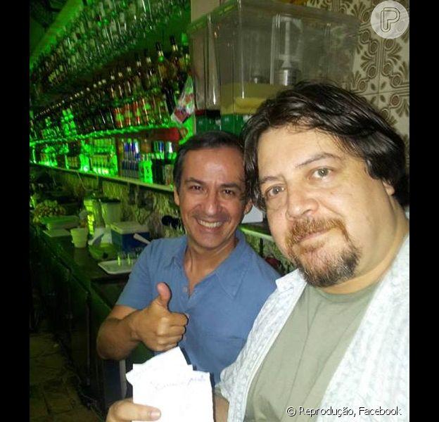 Gláucio Gomes, que era dono do bar onde Paloma (Paolla Oliveira) deu à luz Paulinha (Klara Castanho), voltará à 'Amor à Vida' como um pastor evangélico
