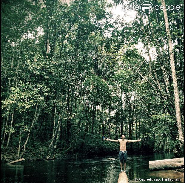 'Além do Horizonte', próxima novela das 19h da Rede Globo que estreia dia 4 de novembro de 2013, terá cenas rodadas na Amazônia, no clima de 'Lost'. Um dos protagonistas, Rodrigo Simas gravou no município de Presidente Figueiredo