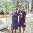 Durante as gravações de 'Além do Horizonte' na Amazônia, Rodrigo Simas foi muito assediado por fãs