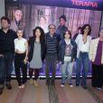 Selton Mello se uniu ao elenco da série para evento em São Paulo, nesta quarta-feira (2)
