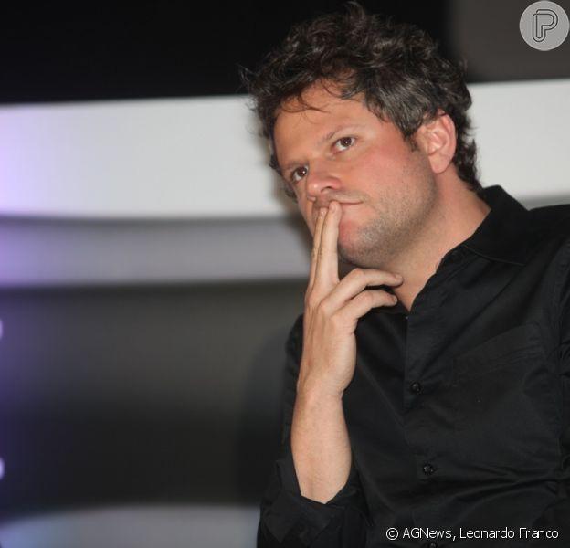 Selton Mello se emocionou ao assitir vídeo com a última gravação do ator, Claudio Cavalcanti